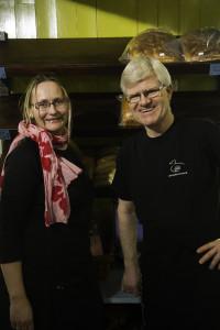 Sognepresten Ottar Strand har vist stor interesse for det frivillige arbeidet på E@.